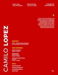 Lopez Camilo CV0102