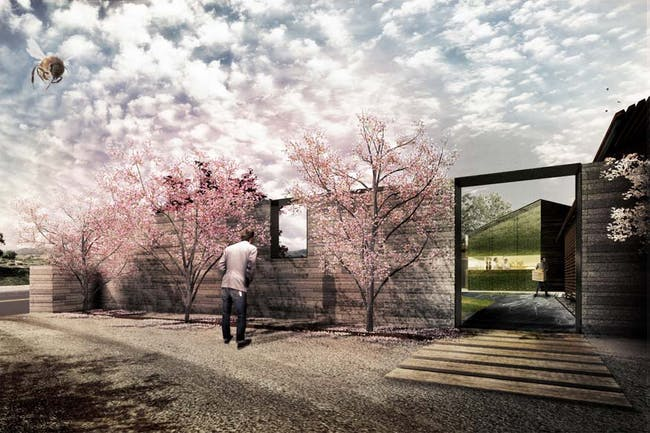 The French Laundry (renovation). Rendering by Snøhetta, courtesy of envelope A+D.