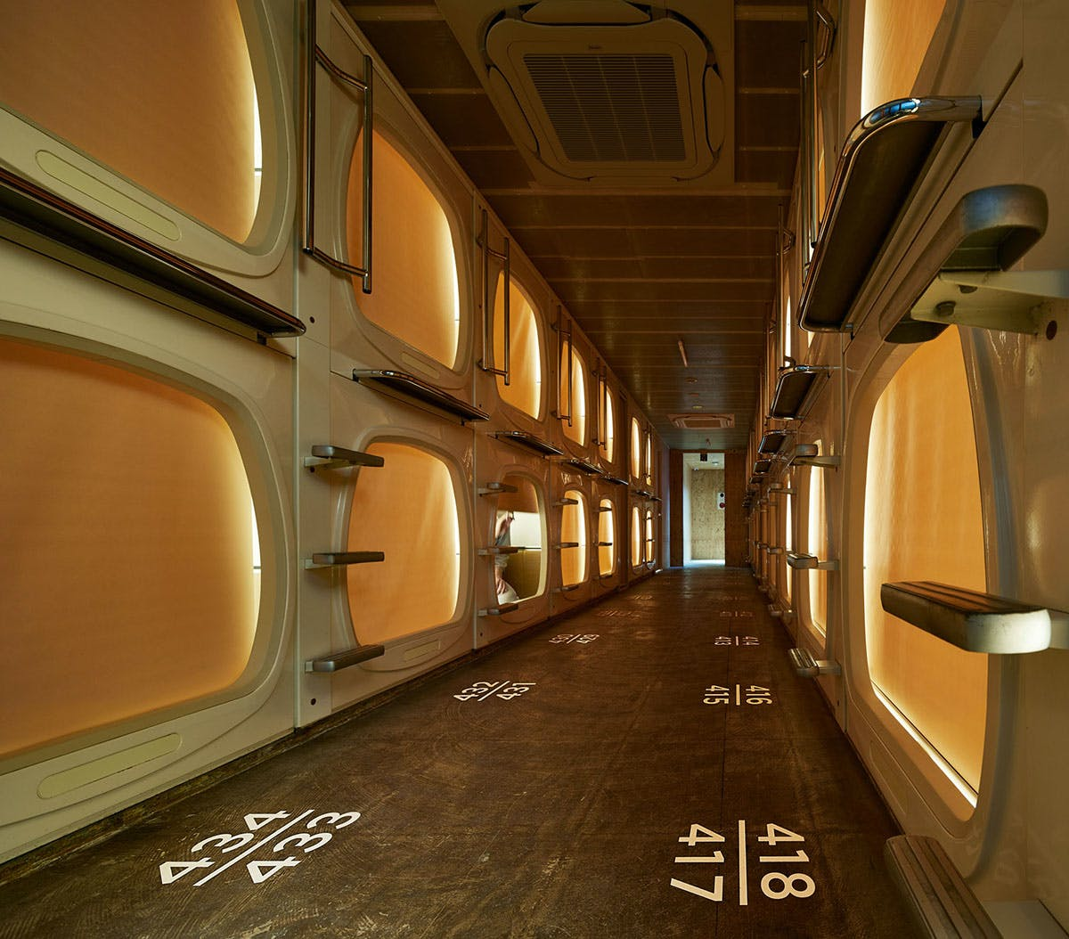 Japanese Capsule Hotel Gets A Scandinavian Spa Treatment From