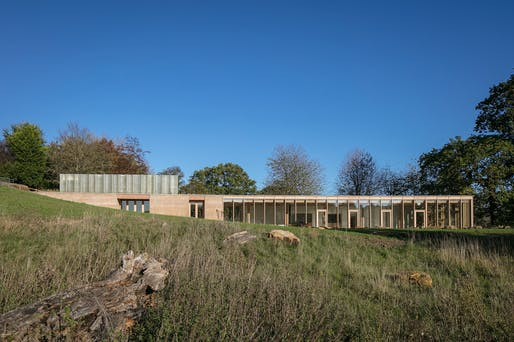 The Weston, Yorkshire Sculpture Park (Architect: Feilden Fowles Architects). Photo ©
