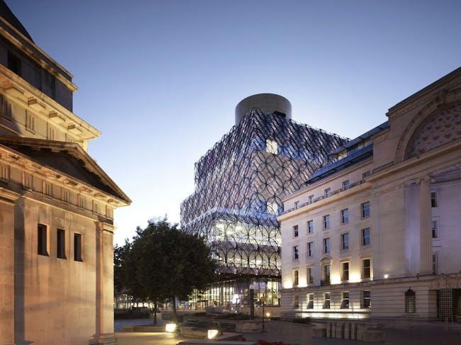 Library in Birmingham, UK by Mecanoo