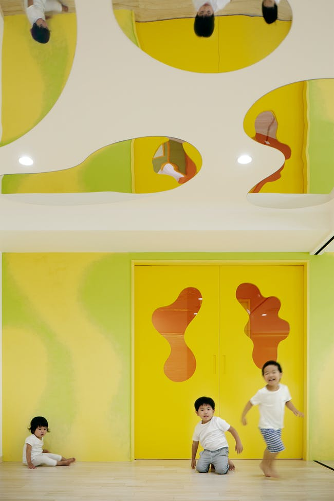 LHM kindergarten in Tokyo, Japan by MORIYUKI OCHIAI ARCHITECTS
