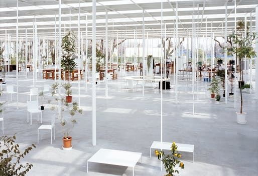 Workshop, Kanagawa Institute of Technology, Japan. Image: junya.ishigami+associates.