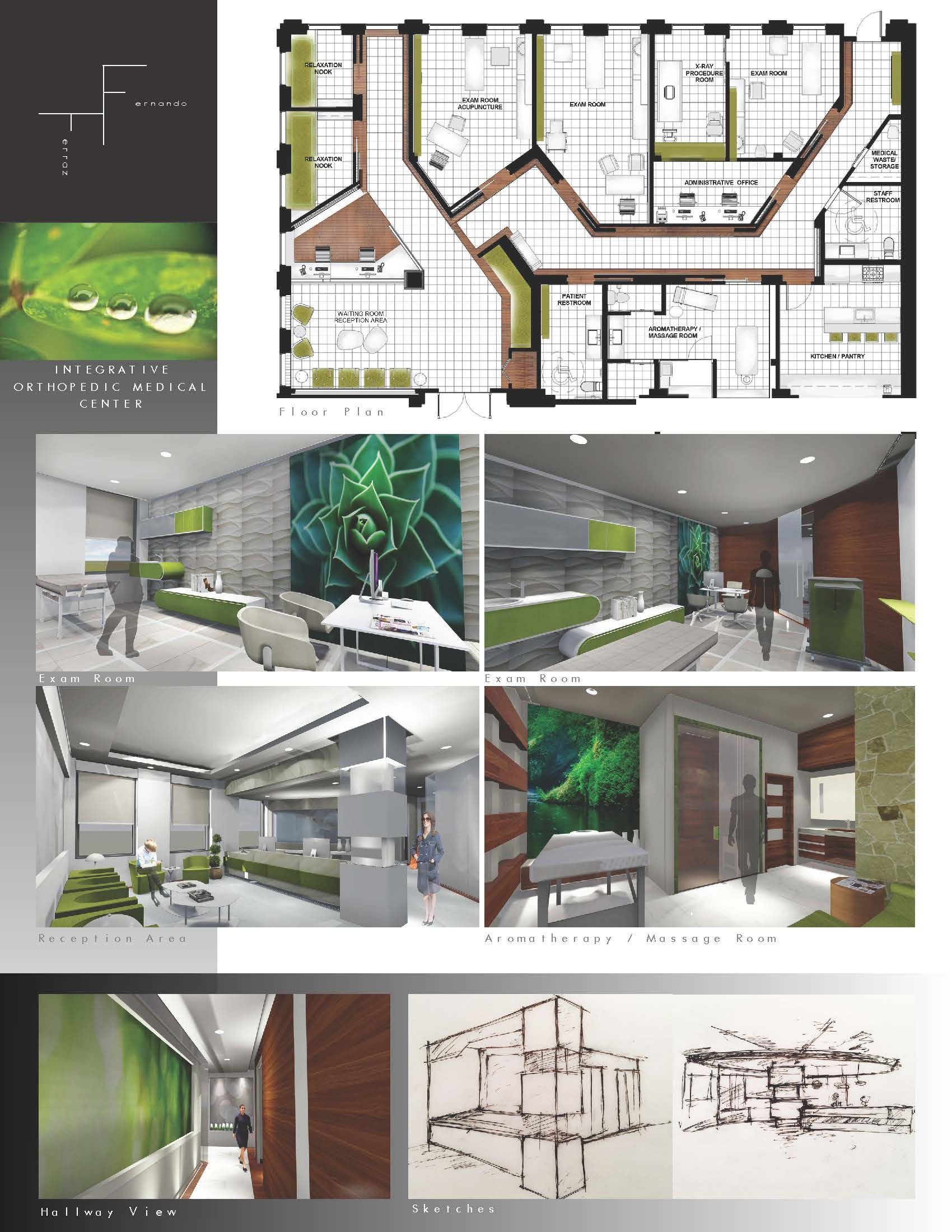 Interior Design Work Samples