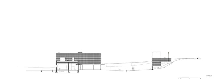 Cross section 1 (Image: Álvaro Siza Vieira)