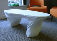 White Drift Coffee Table