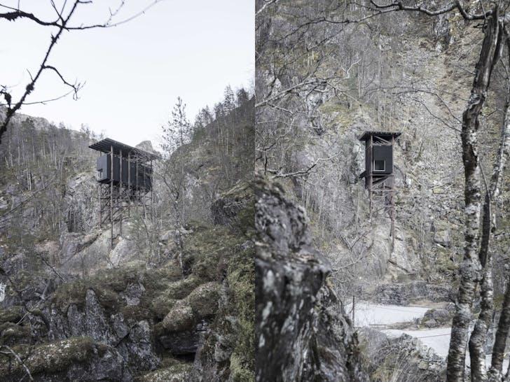 Mine Zinc Museum. Design by Peter Zumthor. Photo courtesy of Aldo Amoretti.