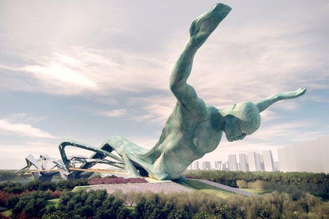 The Titan by Ballistic Architecture Machine. Image (c) BAM