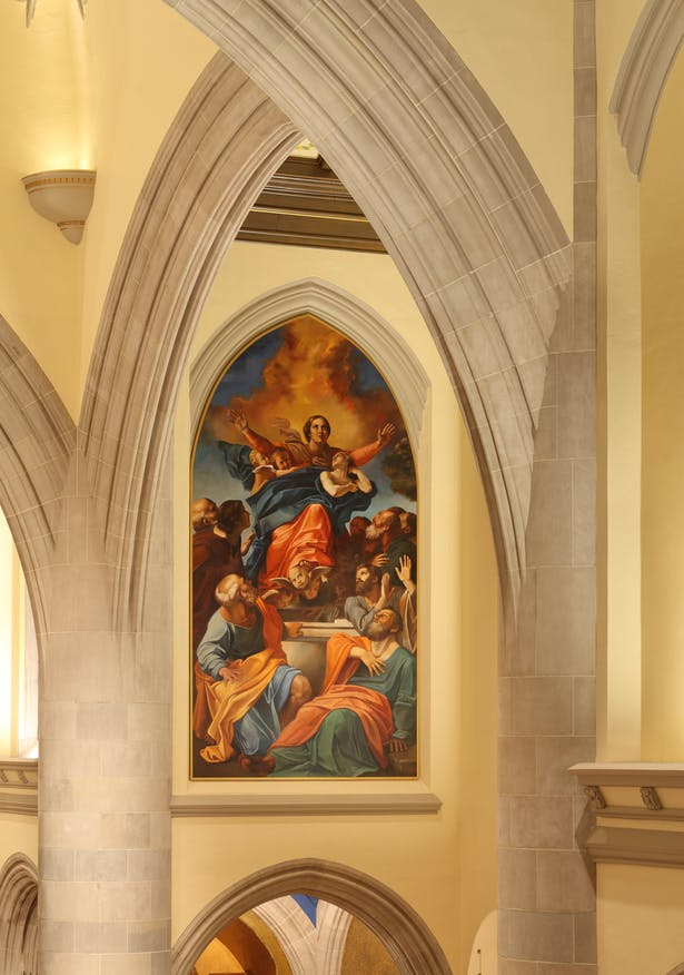Blessed Sacrament Cathedral New Mural Design, Creation, and Installation
