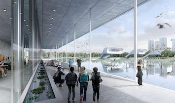"""McGregor Coxall to design """"bird airport"""" wetland park in Tianjin"""