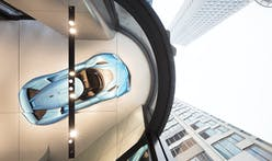 Automotive showroom by Schmidt Hammer Lassen Architects unifies car and home