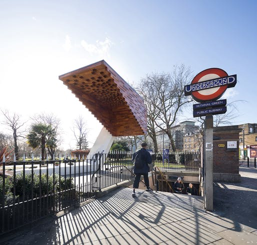 Bethnal Green Memorial by Arboreal Architecture. Photo © Marcela Spadaro.