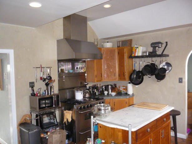 Existing Kitchen Cooking Zone