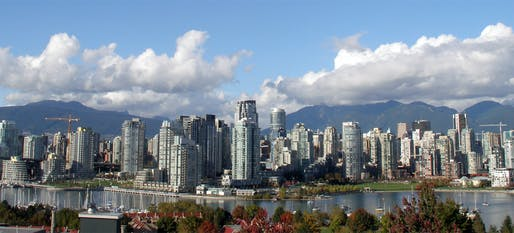 Hot, hotter, Vancouver: the city currently tops the UBS global real estate 'bubble index'. (Photo by Thomas Quine via Wikipedia)