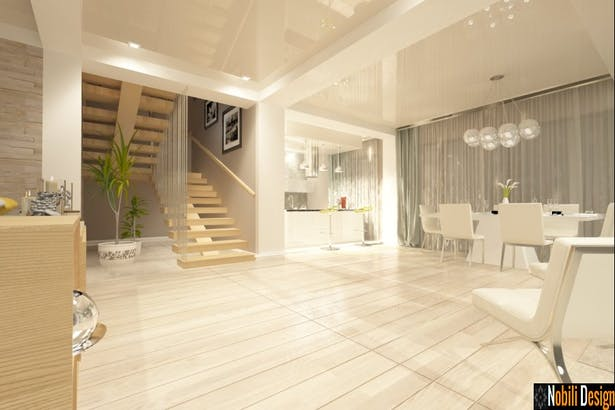 Interior design ideas for a modern living and bedroom- Nobili Interior Design