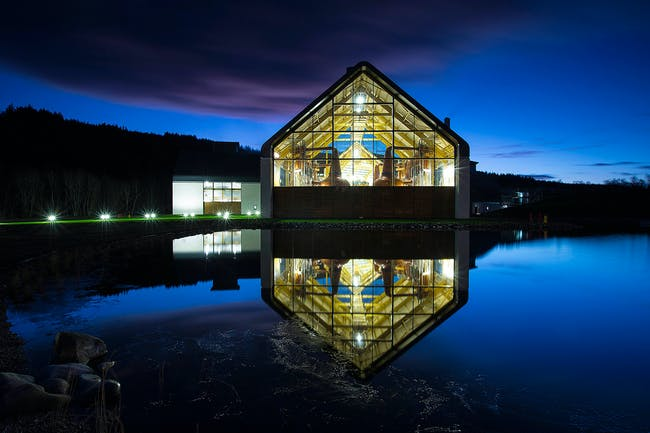 Dalmunach Distillery by Archial Norr (Inverness Studio). Photo © Archial Norr (Inverness Studio)