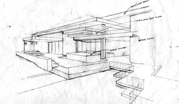 Creekside design perspective