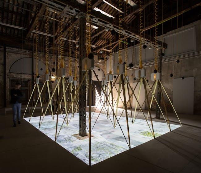 The Drawing Machine. Losing Myself, The Irish Entry to La Biennale di Venezia 2016. Image © Riccardo Tosetto.