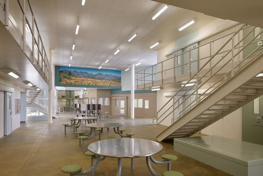 Las Colinas Women's Detention and Re-entry Facility. Image via ozy.com, courtesy of San Diego County Sheriff's Department