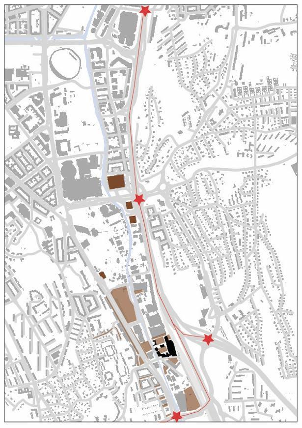 Analyze part I: 1:10000 area existing publick parkings