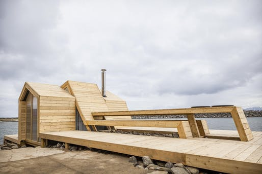 The Bands in Kleivan, Lofoten, Norway by The Scarcity and Creativity Studio within the Oslo School of Architecture and Design (AHO)