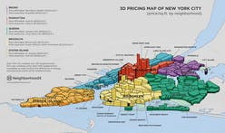 This 3D map compares NYC real estate prices by neighborhood