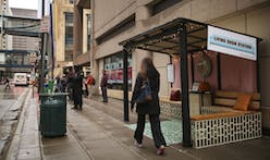Homey pop-up bus shelter hopes to increase safety for Minneapolis commuters