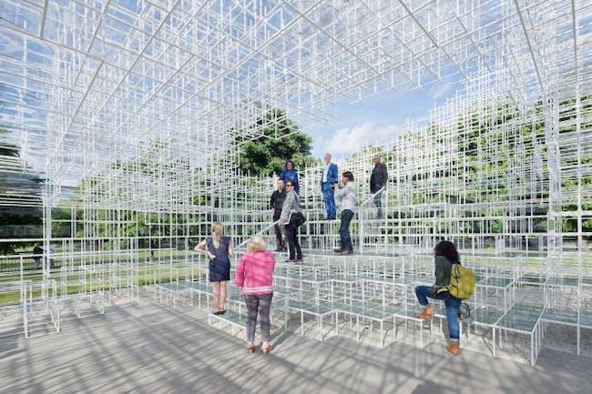 Fujimoto's Serpentine Pavilion, courtesy The Serpentine Pavilion.