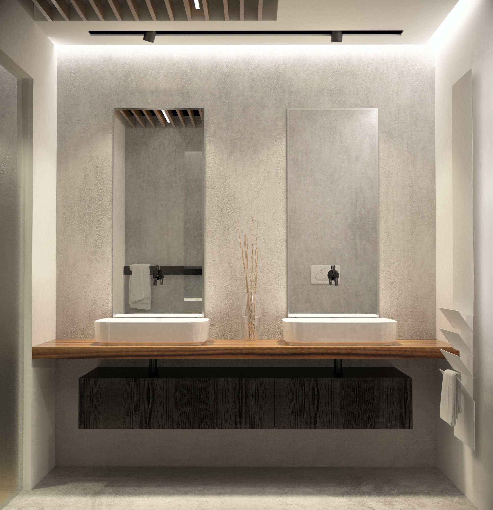 Interior design bathroom luca conocchia archinect Bathroom design jobs london