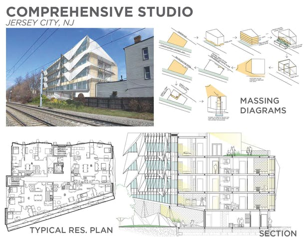 Final Comprehensive Studio Project Jersey City NJ-Not for Construction
