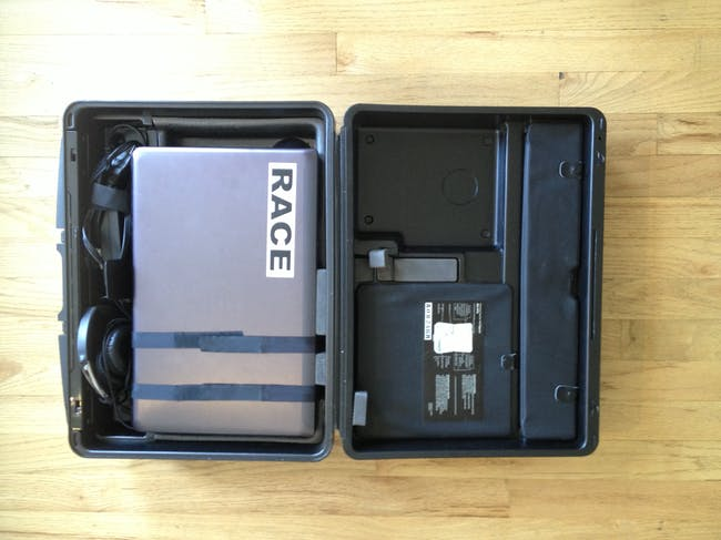 laptop with dual partition drive