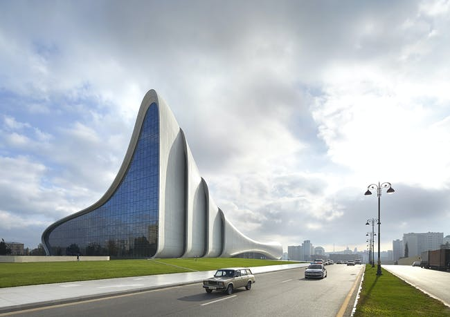 Heydar Aliyev Center - photo by Hufton+Crow