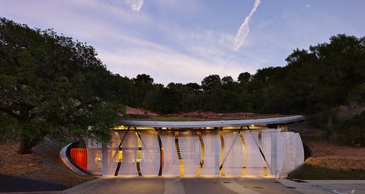 Odette Estate Winery by Signum Architecture. Photo: Adrian Gregorutti.