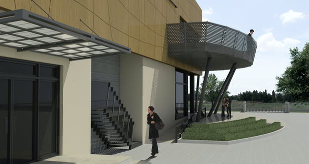 3d perspective of the project