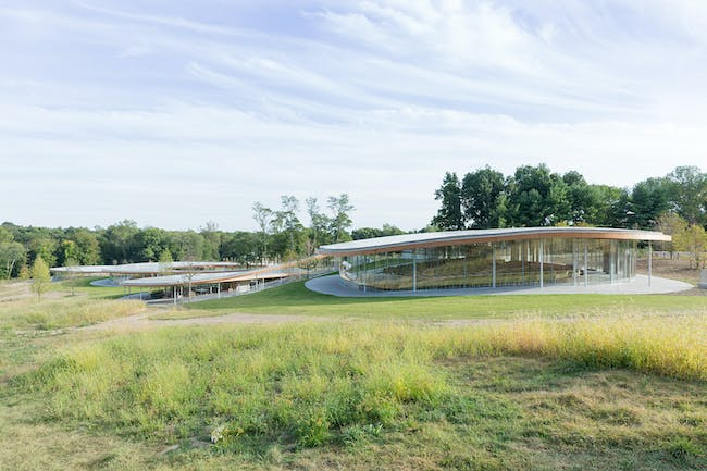 Grace Farms, the River building; © Iwan Baan