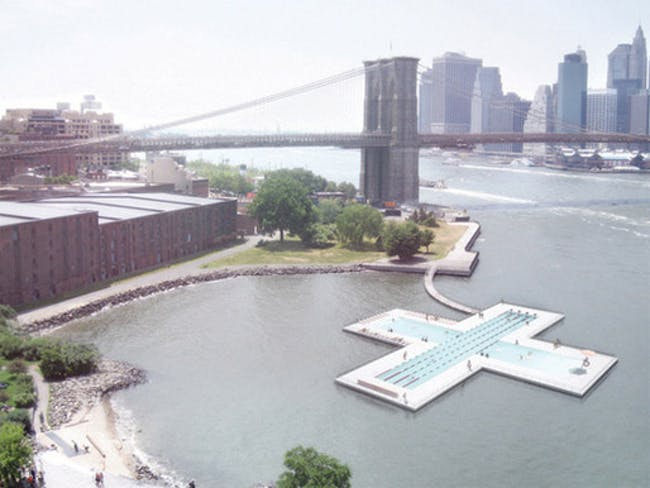 Most Successfully Funded: +Pool: A Floating Pool in the River For Everyone by Family and PlayLab