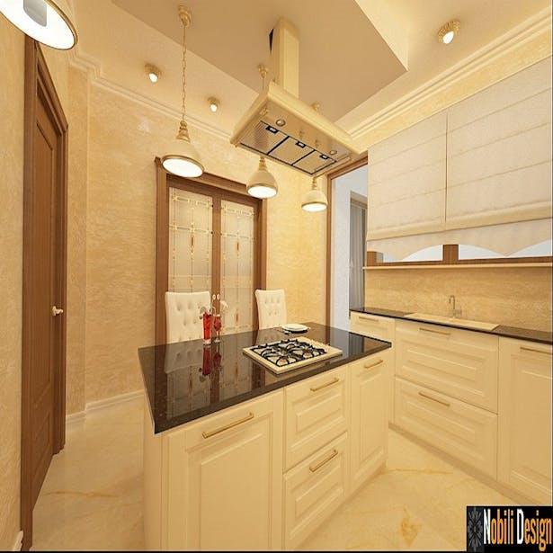 Design interior classic style kitchen