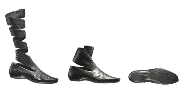 Lacoste shoes by Hadid. Image courtesy of Lacoste.