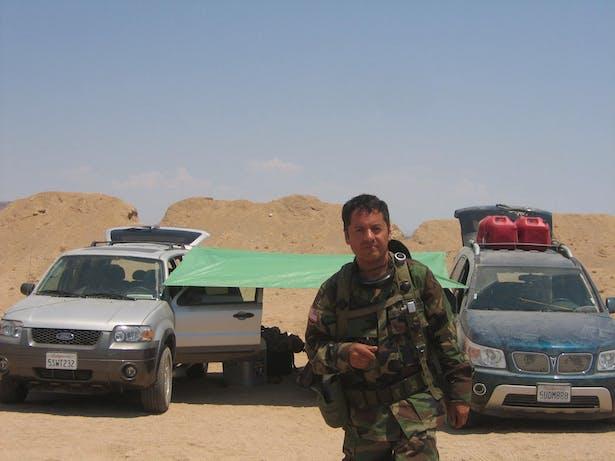 Jaime F. Bautista. The green tarp is my shader