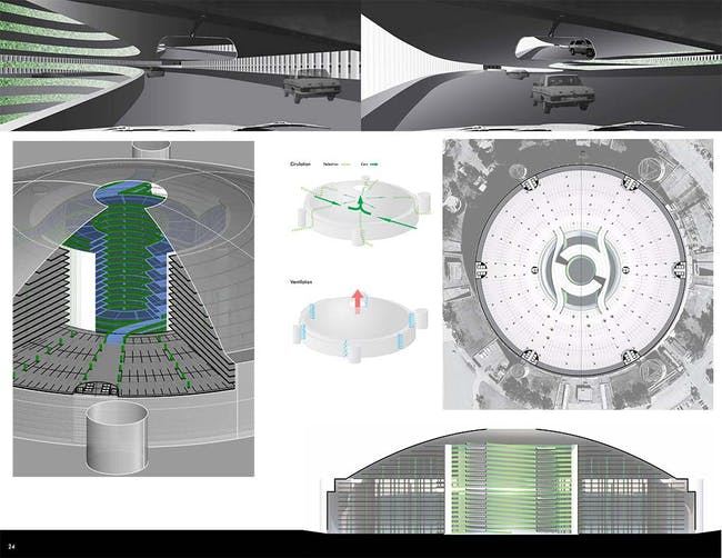 1st place - AstroPark: Filling the Dome and Reclaiming Turf by David Richmond and Adam Wagner