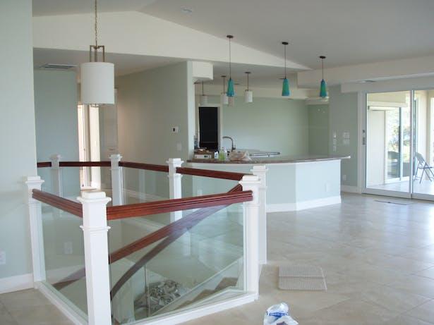 Wailea Spencer Home Main Floor Interior View