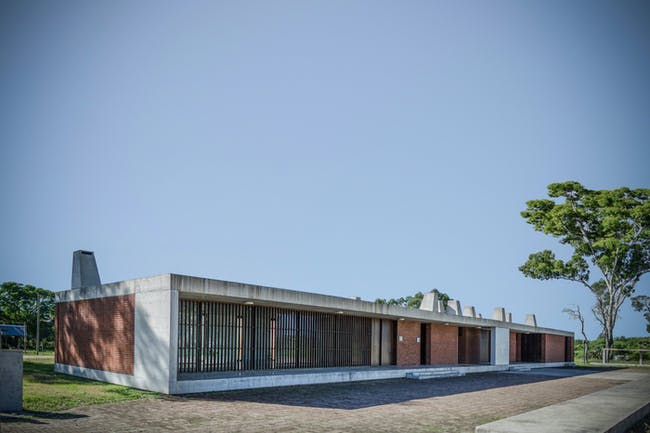 Bolivar Civic Center in Pueblo Bolivar, Uruguay, by Arq. Marcelo Gualano / Arq. Martín Gualano. Image courtesy of the MCHAP.