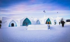 Fire & ice: blaze breaks out in Quebec City's ice hotel
