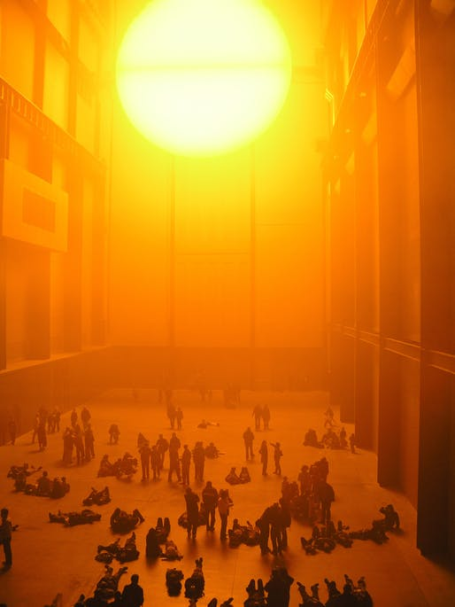 Olafur Eliasson's Weather Project. Photo: Nathan Williams/Flickr.