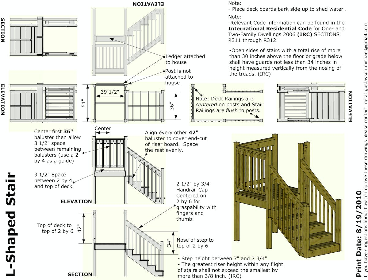 Stair construction guide for bayou area habitat for for Construction habitat