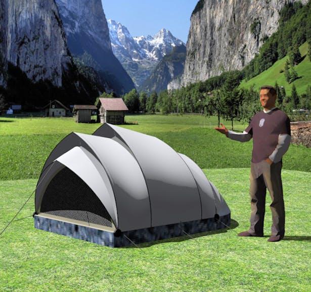 Armadillo Tent