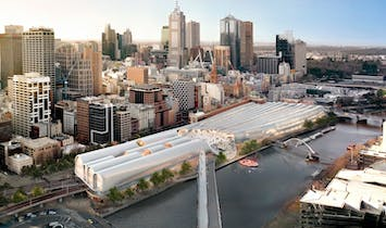 HASSELL + Herzog & de Meuron Win Flinders Street Station Competition