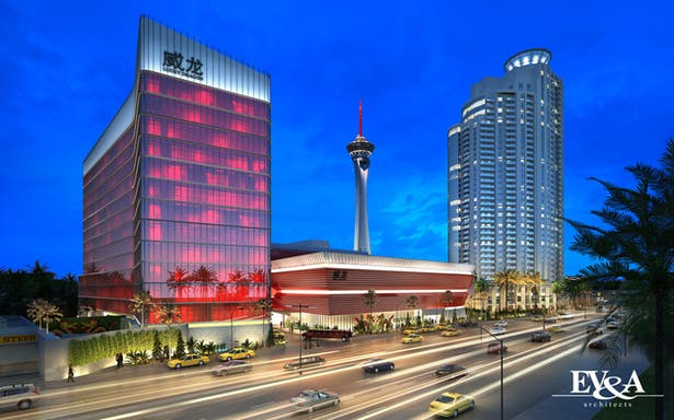 Hotel and Casino Perspective