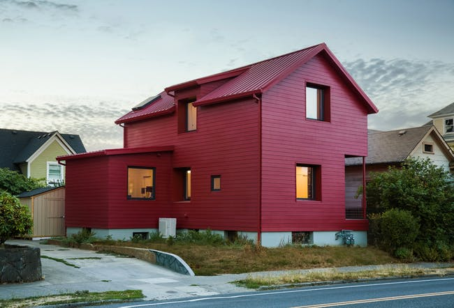Red House in Portland, OR by Waechter Architecture
