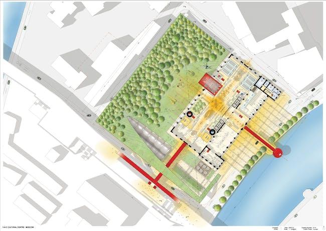 Site Plan (via RPBW 2015)